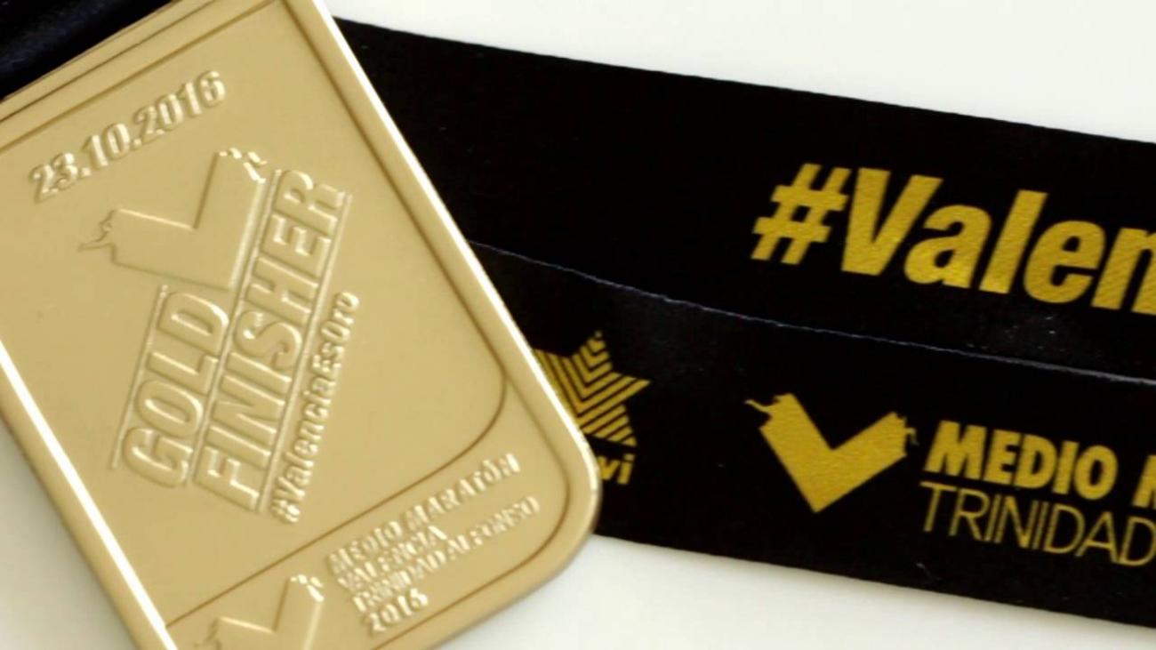 medalla media maraton valencia